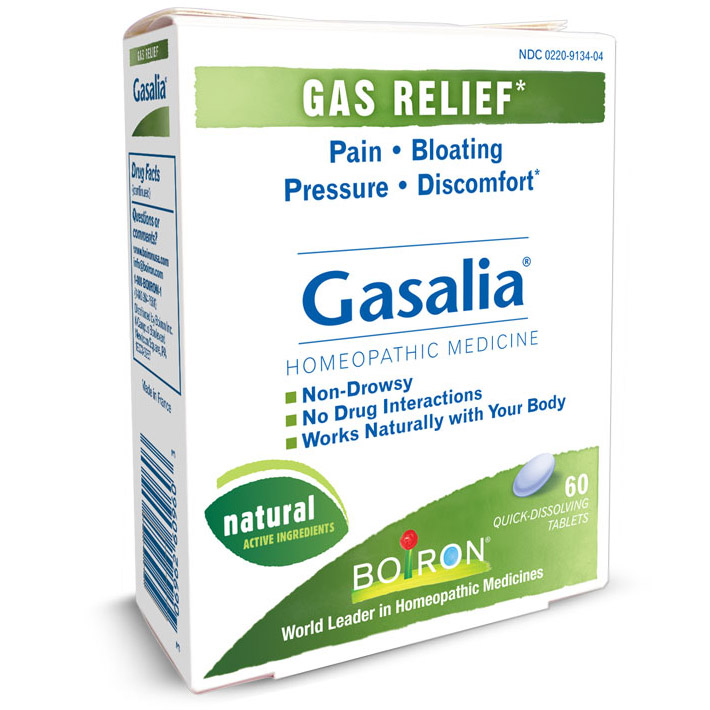 Gasalia Gas Relief 60 tabs from Boiron