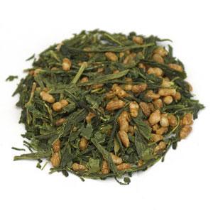 Genmaicha Tea w/ Toasted Brown Rice Organic, China, 1 lb, StarWest Botanicals