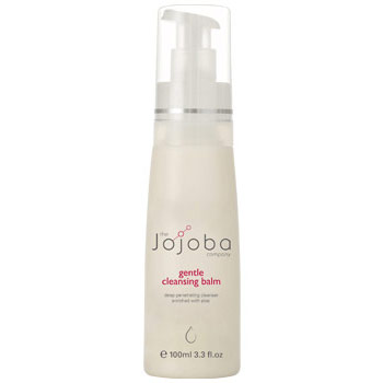 Gentle Cleansing Balm, Cleanser for Sensitive Skin, 3.4 oz, The Jojoba Company