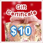 Gift Certificate $10 @ VitaSprings.com