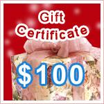 Gift Certificate $100 @ VitaSprings.com