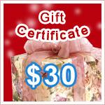 Gift Certificate $30 @ VitaSprings.com