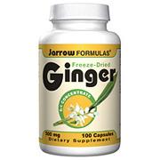Ginger Concentrate, 500 mg 100 caps, Jarrow Formulas