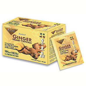 Ginger Honey Crystals (Ginger Instant Tea) 10 Bags, Prince of Peace
