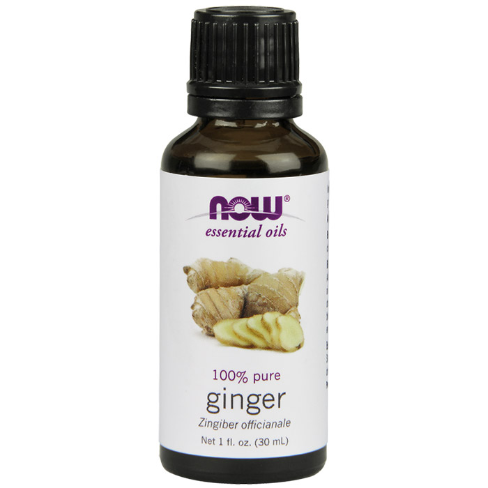 Ginger Oil, Pure Essential Oil 1 oz, NOW Foods