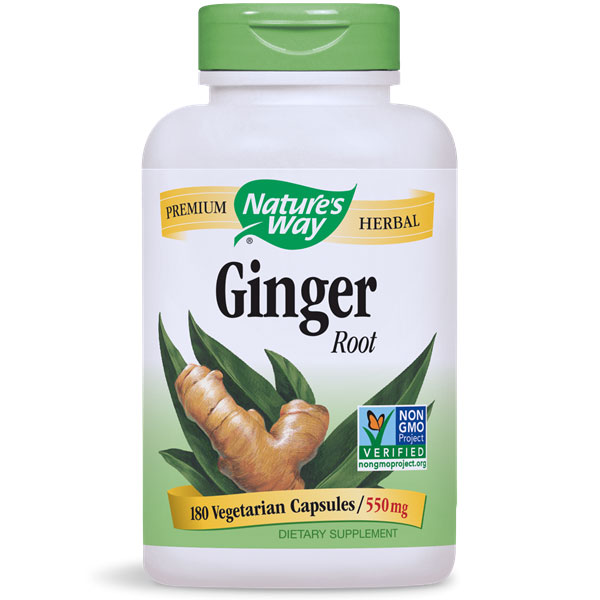 Ginger Root 180 caps from Nature's Way