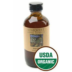 Ginger Root Extract Liquid 4 oz Organic, StarWest Botanicals