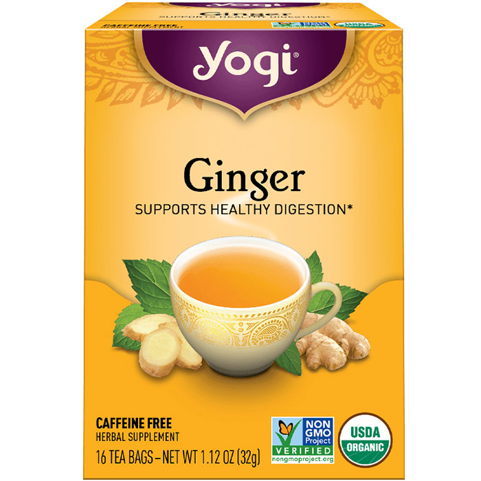 Ginger Tea (Digestive Aid) 16 tea bags from Yogi Tea