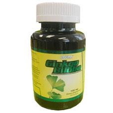 Image of Ginkgo Biloba 60 mg, 100 Capsules, K-Max