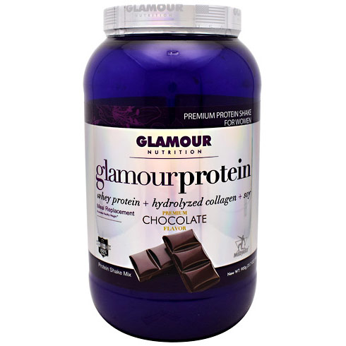 Glamour Protein Shake for Women, Chocolate Flavor, 30 Servings, Midway Labs