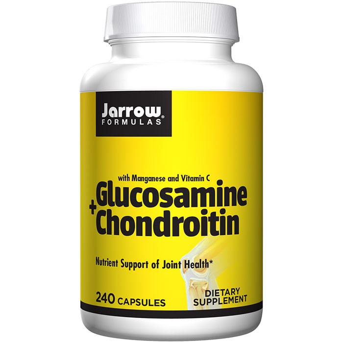 Glucosamine + Chondroitin Combination, 240 caps, Jarrow Formulas