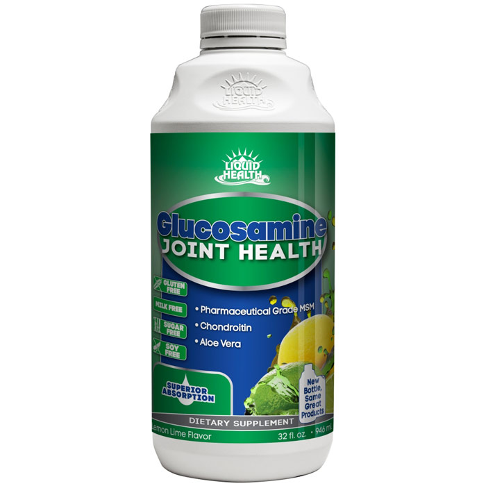 Glucosamine Liquid with Chondroitin & MSM, 32 oz, Liquid Health