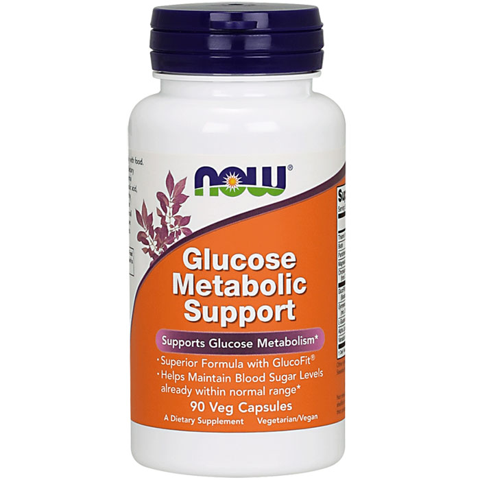 Glucose Metabolic Support ( Glucose Metabolism ) 90 Caps, NOW Foods
