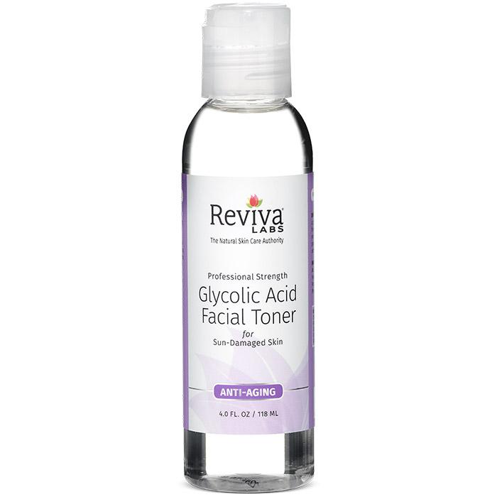 Glycolic Acid Facial Toner, 4 oz, from Reviva (Bath and Beauty - Facial Toner)