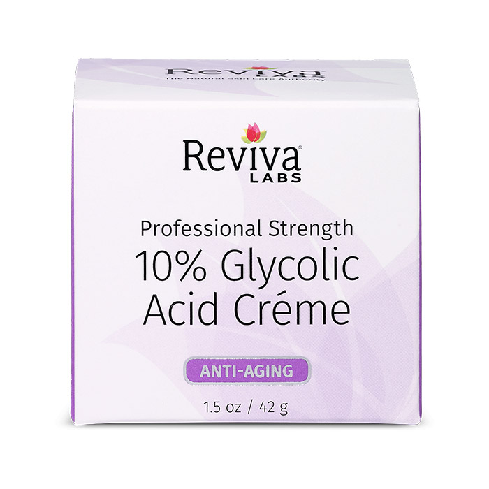 Image of Reviva Labs 10% Glycolic Acid Cream, 1.5 oz