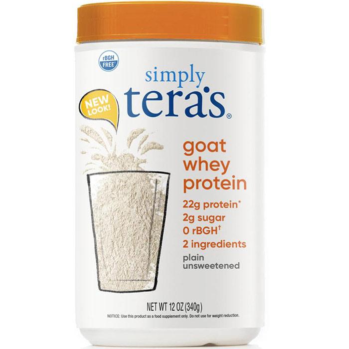 Goat Whey Protein - Plain Whey Unsweetened, 12 oz, Teras Whey