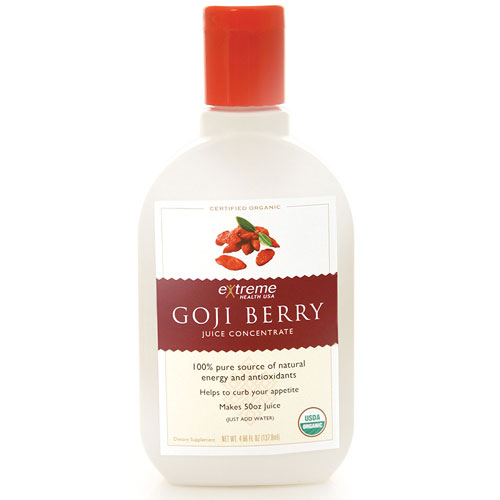 Image of 100% Goji Berry Juice (Concentrate makes up to 90 oz's), 6 oz, Extreme Health USA