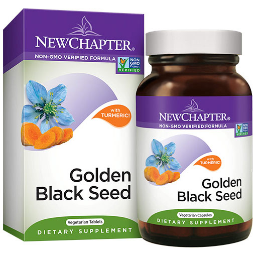 Golden Black Seed, Value Size, 60 Vegetarian Capsules, New Chapter
