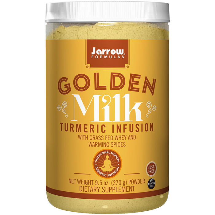 Golden Milk, Turmeric Infusion Powder, 9.5 oz, Jarrow Formulas
