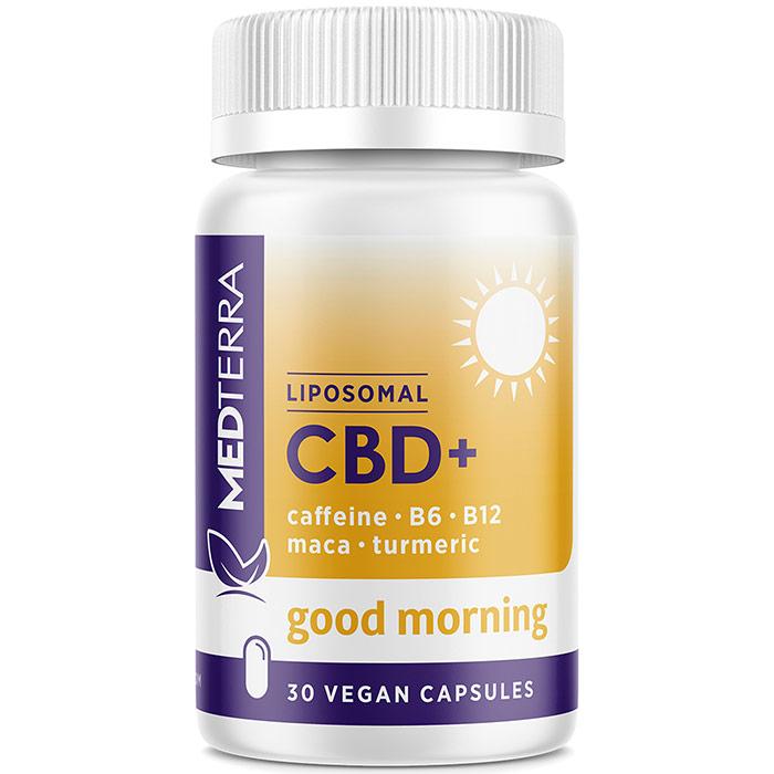 Good Morning, CBD 25 mg, 60 Gel Caps, Medterra