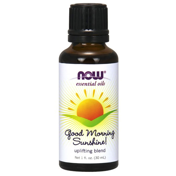 Good Morning Sunshine! Essential Oil Uplifting Blend, 1 oz, NOW Foods