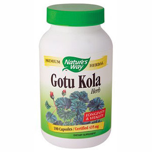 Gotu Kola Herb 100 caps from Natures Way