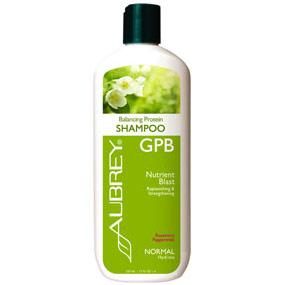 GPB Balancing Protein Shampoo, Rosemary Peppermint, 11 oz, Aubrey Organics