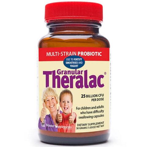 Granular Theralac, Multi-Strain Probiotic Powder, 1.05 oz, Master Supplements