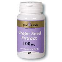Grape Seed Extract 100mg 30 caps, Thompson Nutritional Products