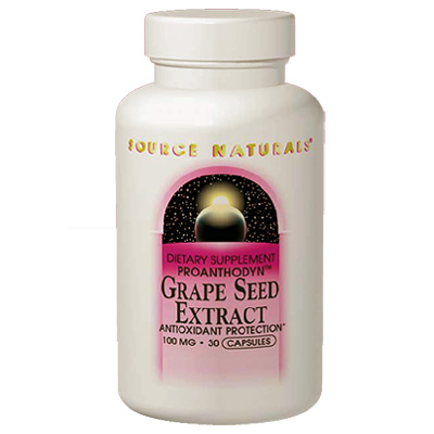 Grape Seed Extract Proanthodyn 100mg 60 caps, from Source Naturals