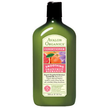 Grapefruit & Geranium Refreshing Conditioner, 11 oz, Avalon Organic - CLICK HERE TO LEARN MORE