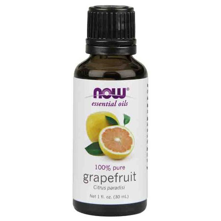 Grapefruit Oil, Pure Essential Oil 1 oz, NOW Foods