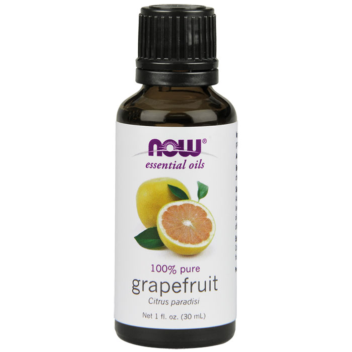Grapefruit Oil, 100% Pure Essential Oil, 4 oz, NOW Foods