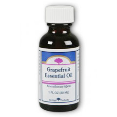 Grapefruit Essential Oil, 1 oz, Heritage Products