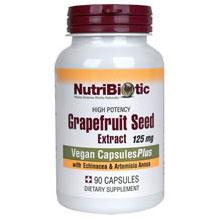 Grapefruit Seed Extract Plus Echinacea & Artemisia Annua, 90 Capsules, NutriBiotic