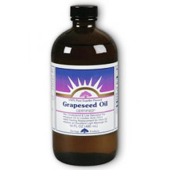 Grapeseed Oil, 16 oz, Heritage Products