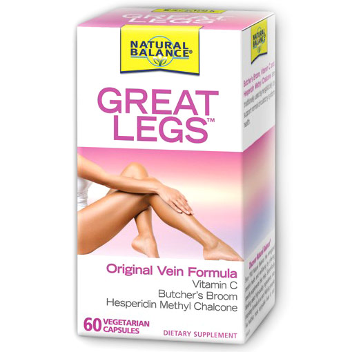 Great Legs, 60 Capsules, Natural Balance