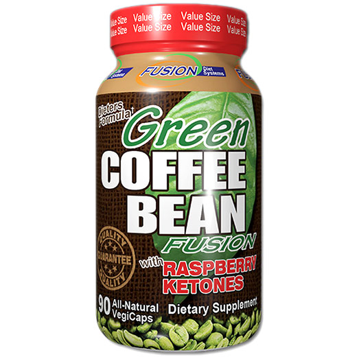 Green Coffee Bean Fusion, 90 Veggie Capsules, Fusion Diet Systems