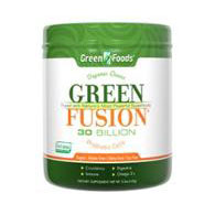Green Fusion, Superfoods Powder, Organic, 5.2 oz (15 Servings), Green Foods Corporation