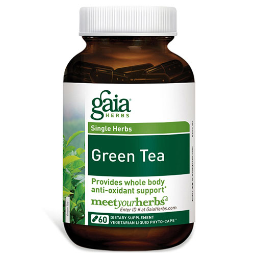 Green Tea, 60 Liquid Phyto-Caps, Gaia Herbs