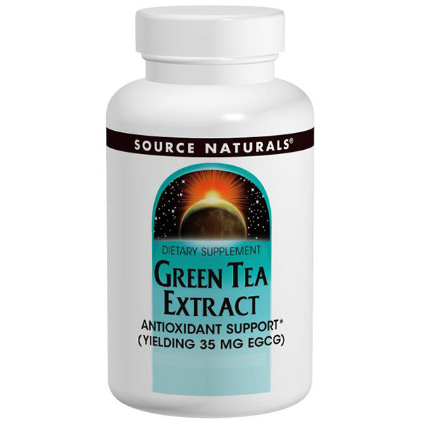 Green Tea Extract 100 mg, 120 Tablets, Source Naturals