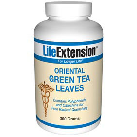 Green Tea Leaves Oriental, 300 g, Life Extension