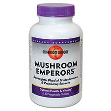 Mushroom Emperors, Balanced Multi-Mushroom Formula, 120 Capsules, Mushroom Wisdom