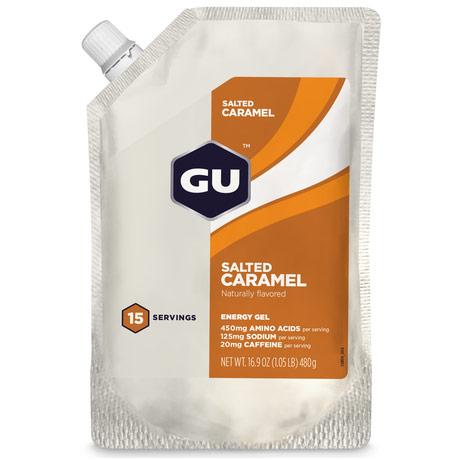 GU Energy Gel, 15 Servings/Packet