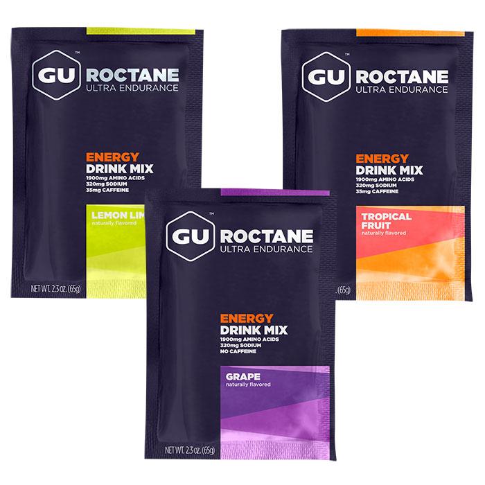 GU Roctane Energy Drink Mix Packs, Ultra Endurance, 10 Packets/Box