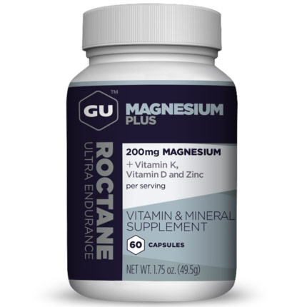 GU Roctane Magnesium Plus, 60 Capsules