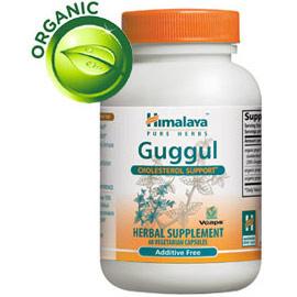 Guggul, Cholesterol Support, 60 Vegetarian Capsules, Himalaya Herbal Healthcare