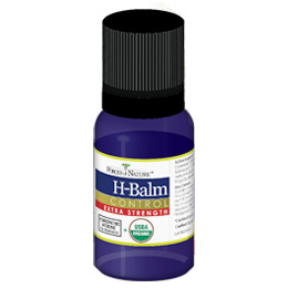 H-Balm Control Extra Strength, H Balm for Herpes, 11 ml, Forces of Nature