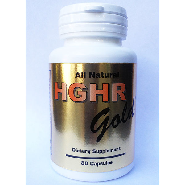 HGHR Gold, HGH Releaser (H GHR Gold), 80 Capsules, NaturesTech Inc