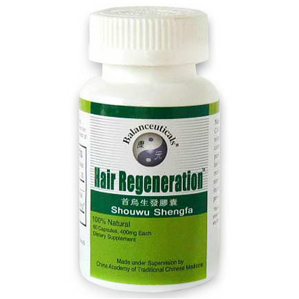 Hair Regeneration, Herbal Formula, 60 Capsules, Balanceuticals